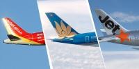 Phí đổi ngày bay, giờ bay, hành trình của Vietnam Airlines, VietJet Air và Jetstar Pacific
