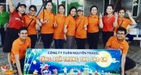 Tuấn Nguyễn Travel tặng quà Trung Thu cho trẻ em Bệnh viện nhi Đà Nẵng