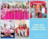 Tuấn Nguyễn Travel tổng kết hoạt động tháng 1/2020